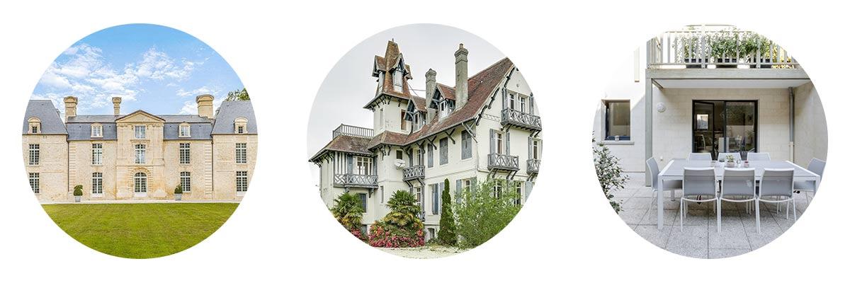 Deauville villas de luxe