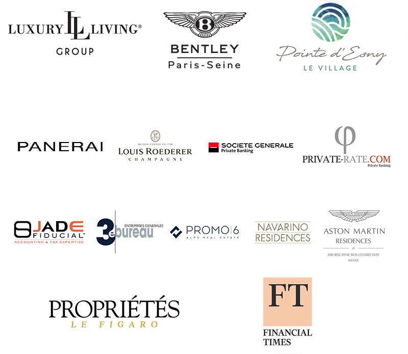 Barnes Luxury Property Show - Nos partenaires pour le salon international